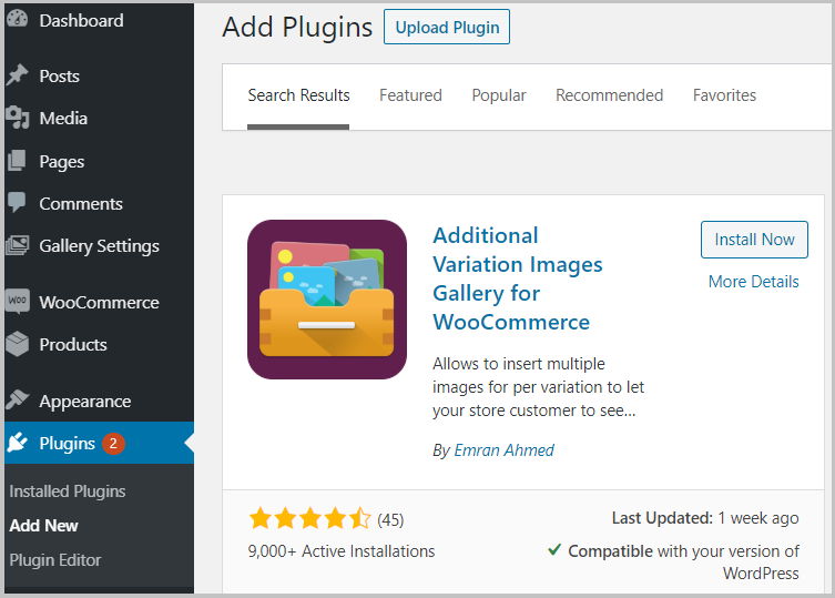 additional gallery plugin
