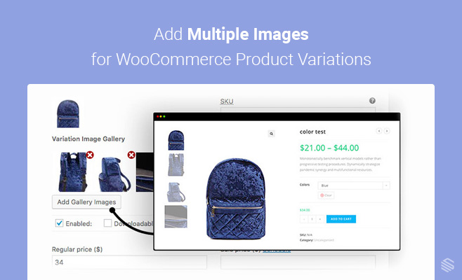 Add Multiple Images for WooCommerce Product Variations