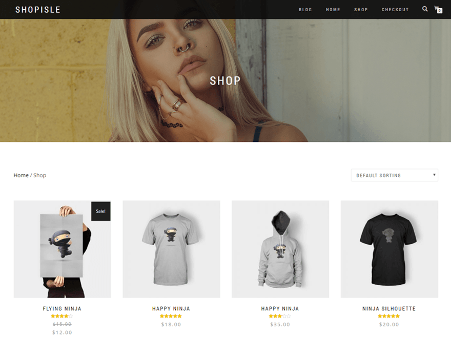 shopisle wordpress theme