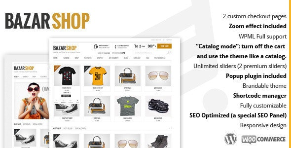bazar shop woocommerce