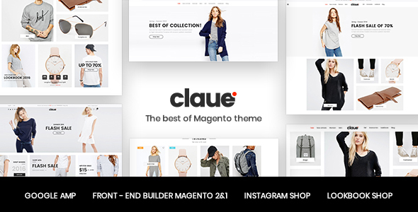 claue WooCommerce theme