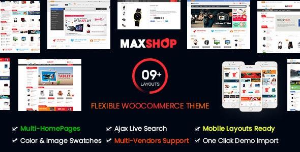 maxshop woocommerce