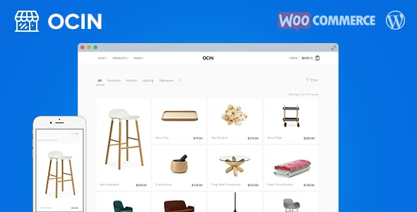 ocin wordpress theme