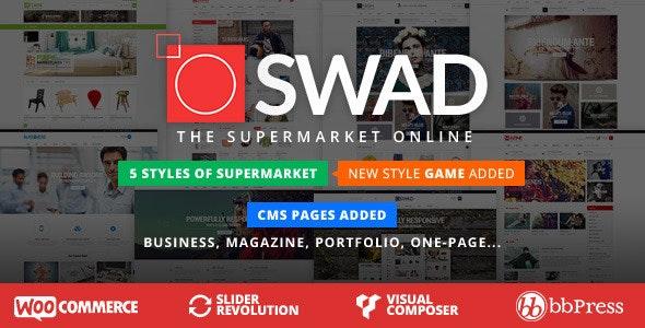 oswad theme WooCommerce