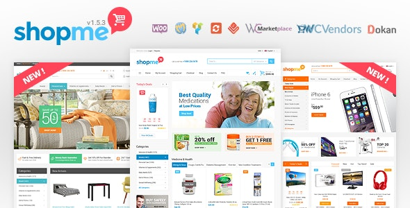 shopme WooCommerce theme
