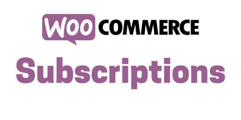 woocommerce subscription