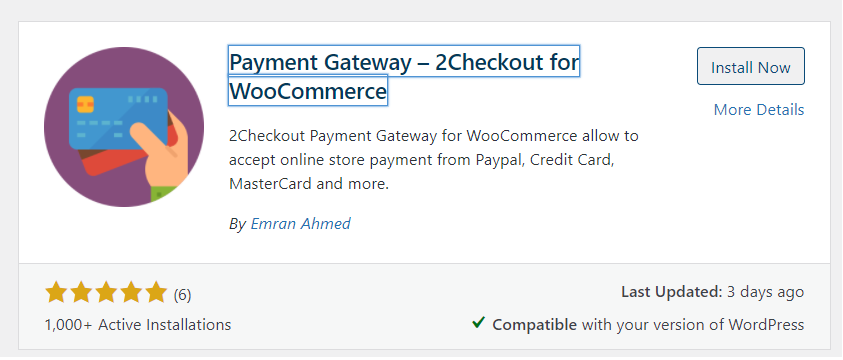 2checkout woocommerce